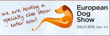 Results from European Dog Show 2015